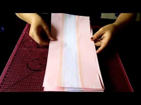 Como hacer un abanico de papel para fiestas youtube - Como hacer adornos para fiestas ...