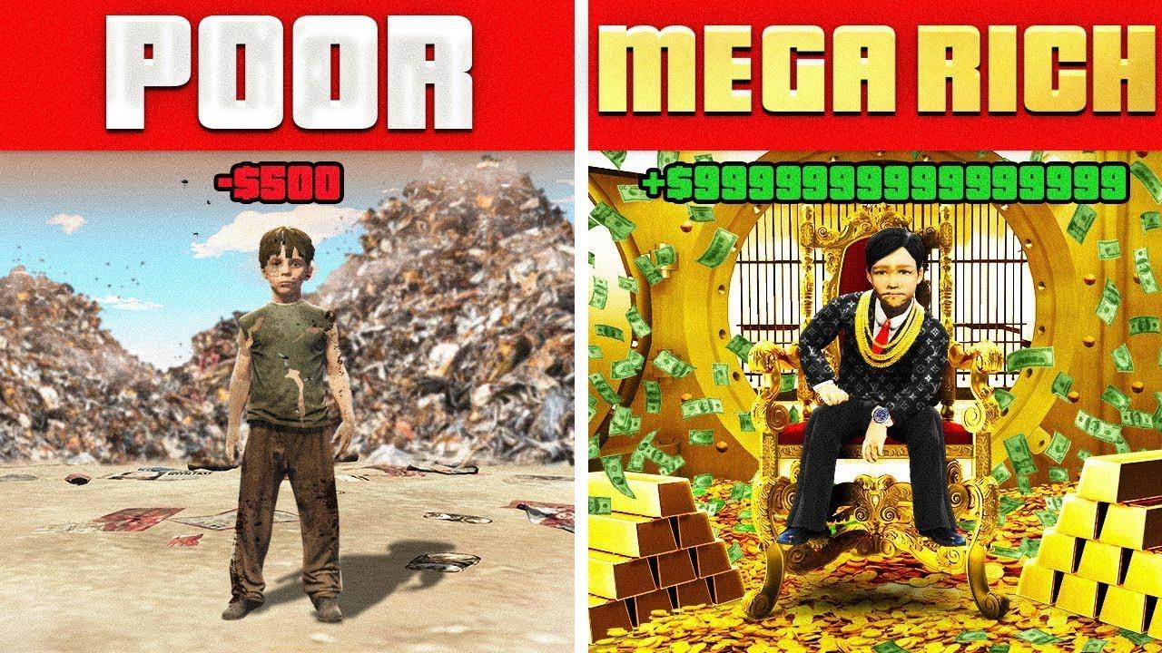 POOR CHILD vs MEGA RICH CHILD!