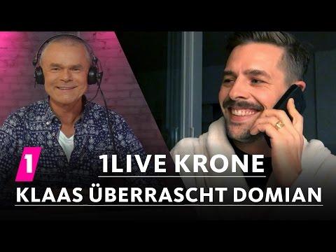 Klaas überrascht Domian mit der 1LIVE Krone | 1LIVE Krone