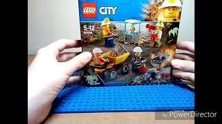 Обзор на набор LEGO Бригада шахтеров City Mining 60184
