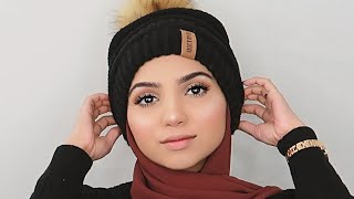 LONG LASTING WINTER MAKEUP TUTORIAL    EVERYDAY GLAM + GIVEAWAY!