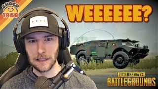 chocoTaco Takes the BRDM for a Spin - PUBG Gameplay