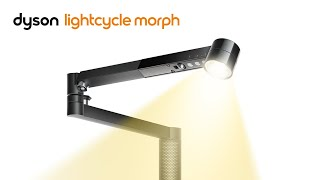 4 lights in 1. Introducing the Dyson Lightcicle Morph Light
