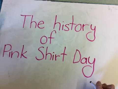 The story of pink shirt day – buzzpls.Com