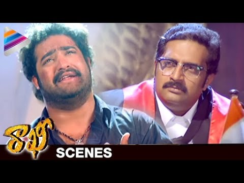NTR gets Emotional in Rakhee Court Scene |...
