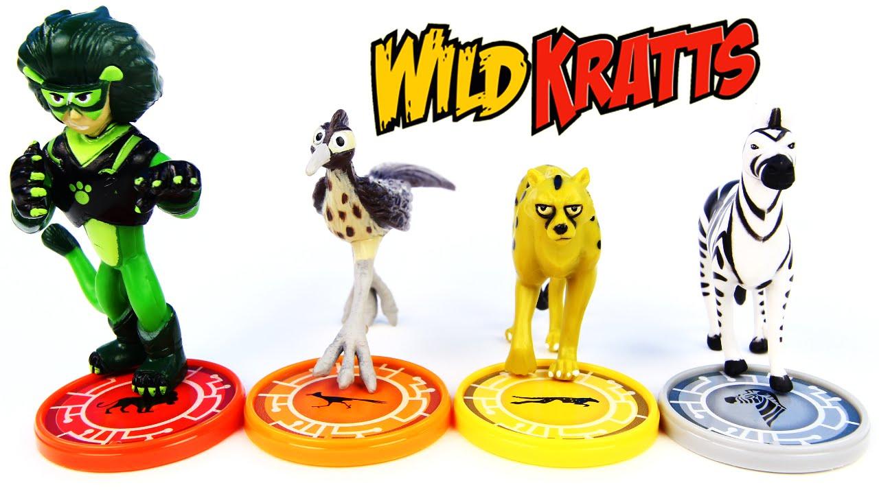 how to make wild kratts creature power discs
