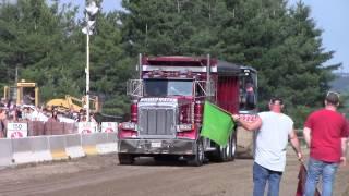 Broadwater Grantsville Days 6-29-14 Tri-Axle Dump Truck Pull