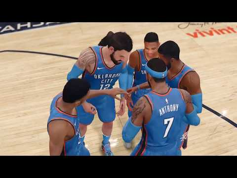 NBA LIVE Playoffs 2018 Oklahoma City Thunder vs Utah Jazz Full NBA Game NBA LIVE 18