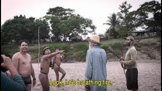 Uncontacted Tribe and locals meet for first time