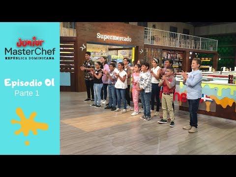 MasterChef Junior República Dominicana | Episodio 01 | Parte 1