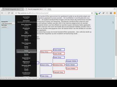 FLAT (FoLiA Linguistic Annotation Tool) Demonstration