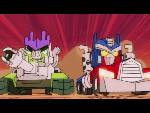Angry Birds Transformers new Cinematic Trailer
