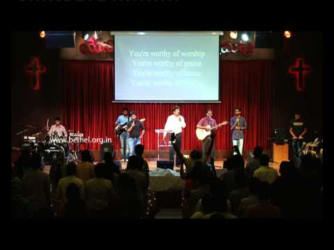 English Service Worship Songs On 30th Aug 2015