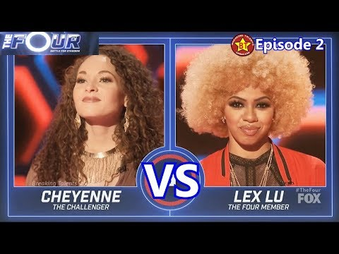 The Four Cheyenee Elliott  vs Lex Lu with Results &Comments  The Four Episode 2