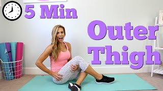 Video 5 Minute Outer Thigh Workout download MP3, 3GP, MP4, WEBM, AVI, FLV Agustus 2018