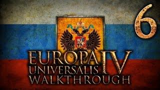 Прохождение Европа 4 за Московию(Россию). Часть 6 [Война с Казанью]