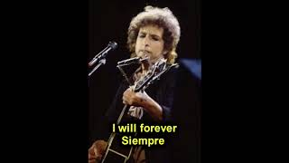BOB DYLAN - THIS WAS MY LOVE (SINATRA)  - ESPAÑOL ENGLISH