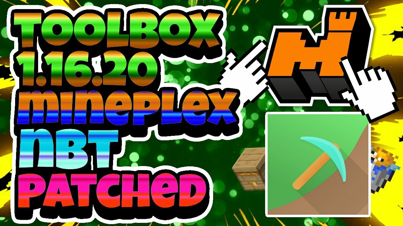 [NEW] TOOLBOX FOR MCPE 1.16.20 PREMIUM | MINEPLEX NBT PATCH | (BEST) HACK TOOLBOX FOR MCPE *OP*