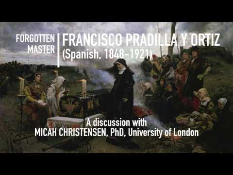 Francisco Pradilla y Ortiz (Spanish, 1848-1923) A lecture on his life and career