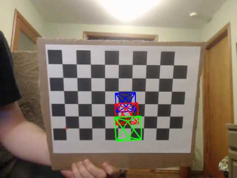 Chessboard detection using EmguCV / OpenCV part 1 | FunnyCat TV