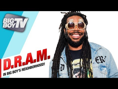 DRAM on The Damn Tour, His song Gilligan & More!