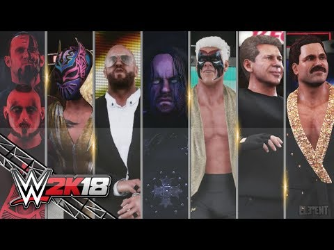 WWE 2K18 All Entrances 6 | Edge, Ministry Undertaker, Ascension, Cesaro, Sin Cara, 90's Sting & More