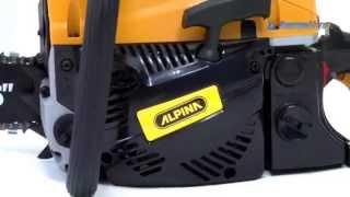 Бензопила Alpina A4500 - видео-обзор от Greensad