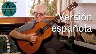 Clase de guitarra con Andrés Segovia: los diferentes timbres de la guitarra