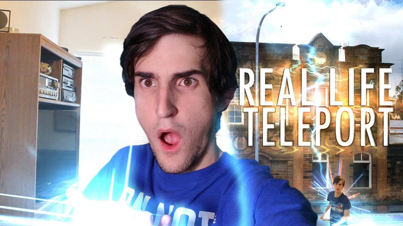 HOW TO TELEPORT IN REAL LIFE (ACTUALLY WORKS)