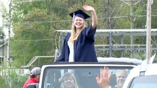 Bemidji High School Holds Graduation With Car Procession