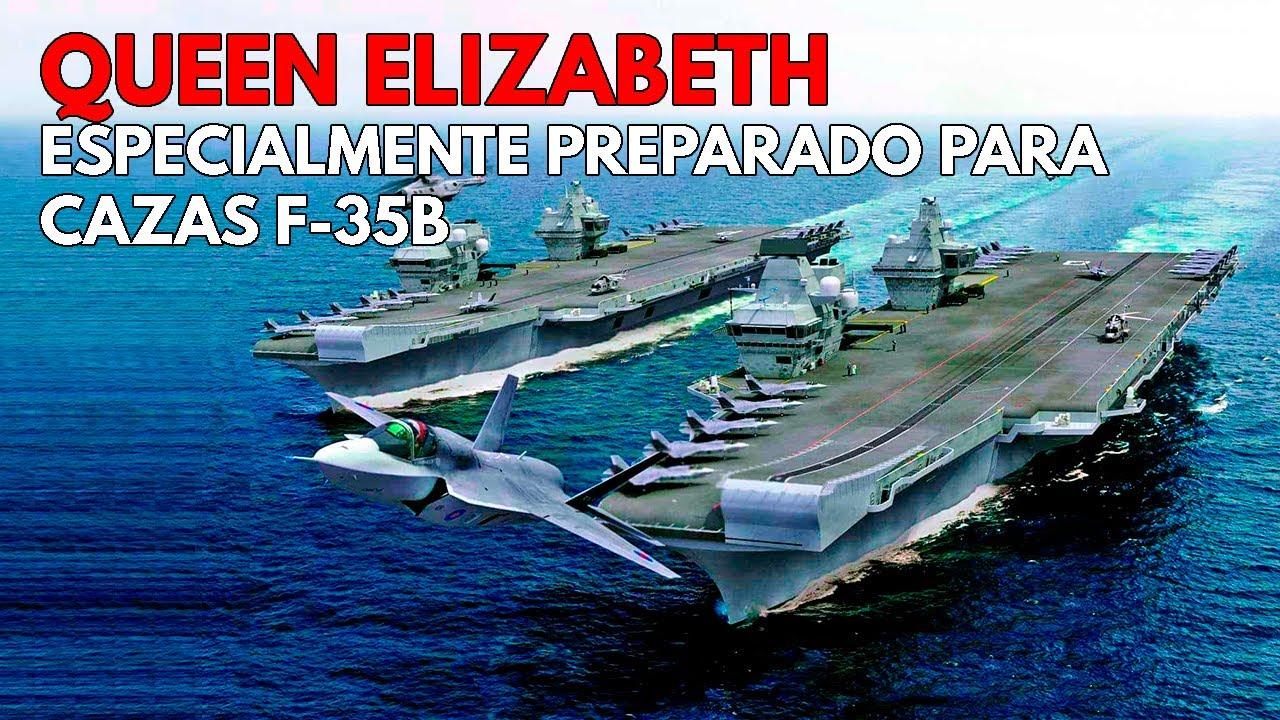 Queen Elizabeth | El ÚNICO y MODERNO portaaviones con DOBLE ISLA del Mundo