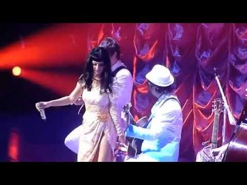 Katy Perry singing Rebecca Black Friday Live Melbourne Australia California Dreams Tour