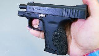 охолощенный пистолет Валера (Курс-С, 10ТК) видео обзор