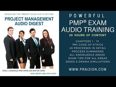 Project Management Audio Digest MP3 Instant Download (20-Hour PMP Exam/PMBOK 6th Content)