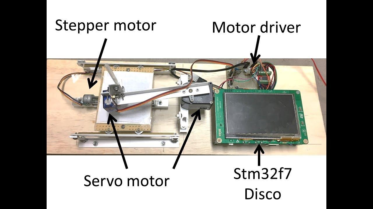 diy-VT100 (rev4 - STM32F7 + 5 Inch LCD) by Mad Resistor