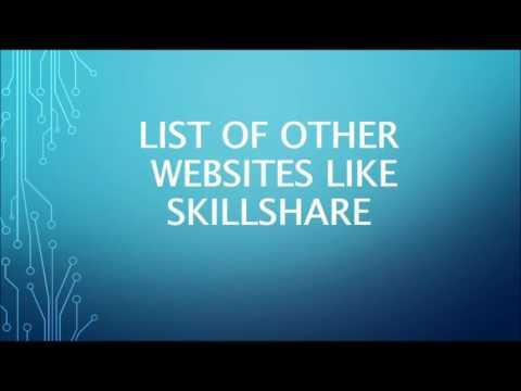 Sites Like Skillshare . Websites Like Skillshare . Skillshare Alternative