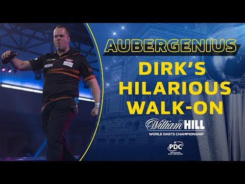 AUBERGENIUS! Dirk van Duijvenbode's incredible walk-on at the World Championship ?