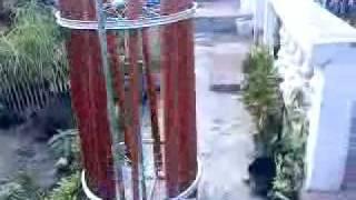 2 bycicle wheel 2 Kilo Watts vawt (vertical axis windmill turbine) design Iloilo Philippines
