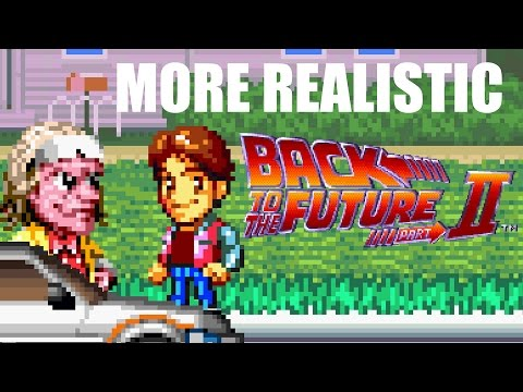 More Realistic Back to the Future Part II
