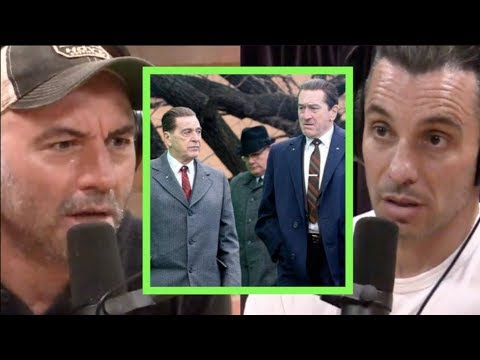 Sebastian on Working on The Irishman with Scorsese, De Niro, and Pesci | Joe Rogan