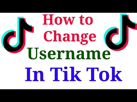 How to change Username in Tik Tok app   Add Youtube channel