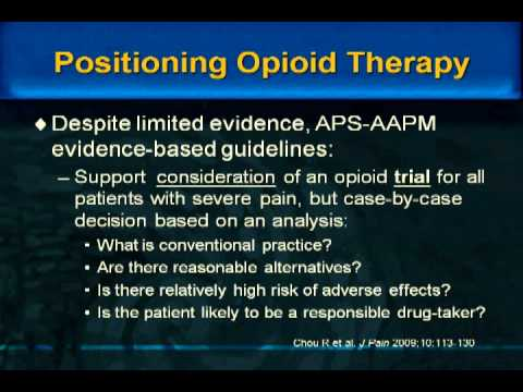 Pain Management and Addiction Medicine