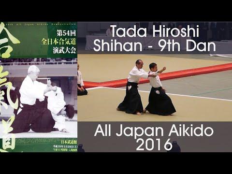 Tada Hiroshi Shihan Aikido Demonstration - 54th All Japan Aikido