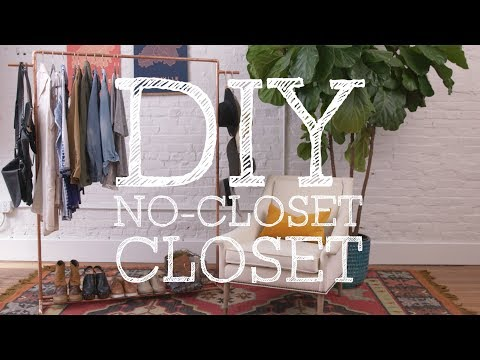 DIY Copper Clothes Rack - HGTV