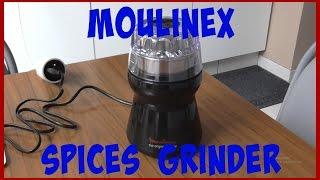 Moulinex spices grinder unboxing