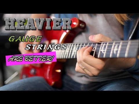 Heavier Gauge Strings Are Better and Here's Why.