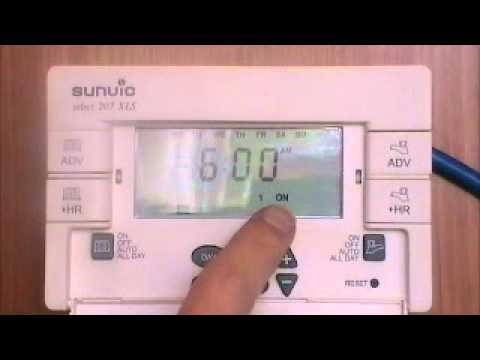 sunvic 207 boiler programmer user instructions by advantagesw youtube rh youtube com