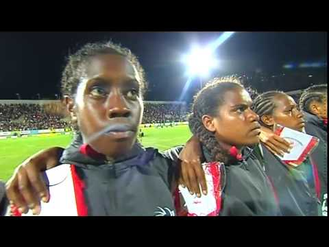 Pacific Games  2015 Football New Caledonia vs Papua New Guinea [GOLD] Women