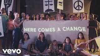 Kesha - Here Comes The Change (From the Motion Picture On The Basis of Sex)(Lyric Video)