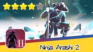 Ninja Arashi 2 Level 03 Walkthrough Arashi into the shadow Recommend index four stars
